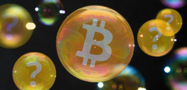 burbuja de las criptomonedas