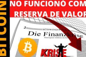 Bitcoin como reserva de valor
